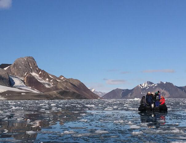 Företagsaktiviteter kickoff och konferens på Svalbard