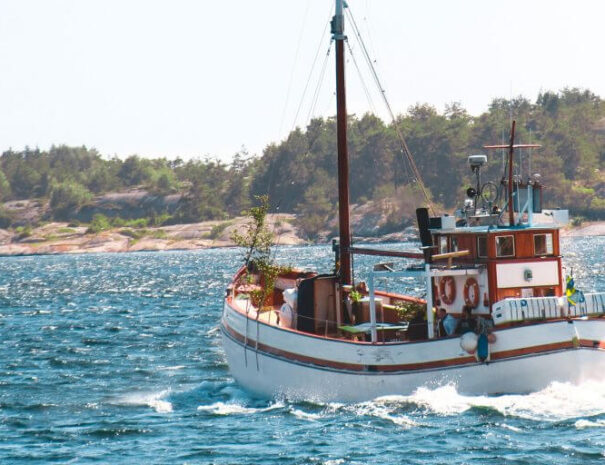 Båten M/S Donalda
