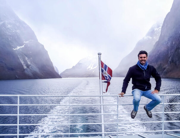 Båttur i Norge