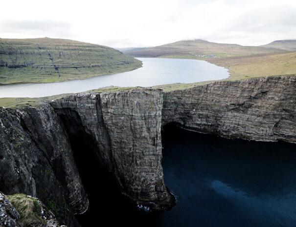 Vacker natur på Färöarna