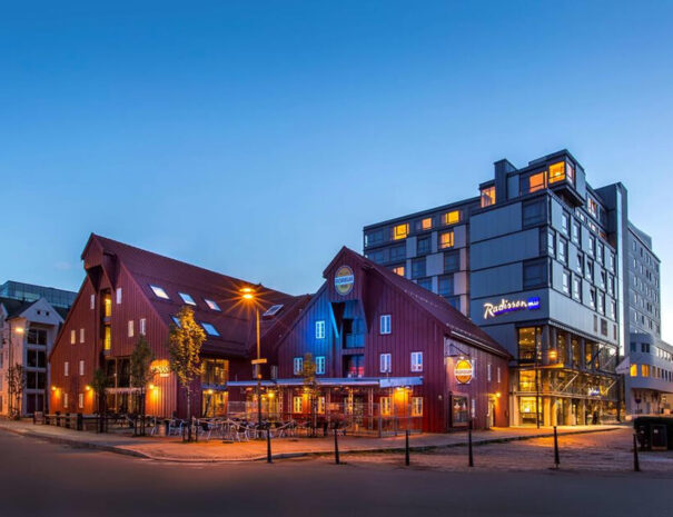 Hotell Radisson Blu i Tromsö