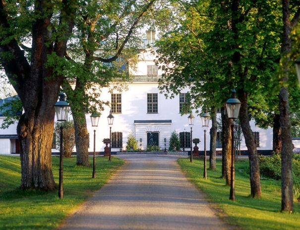Utanför Häringe slott