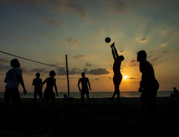 Volleyball som konferensaktivitet Gotland
