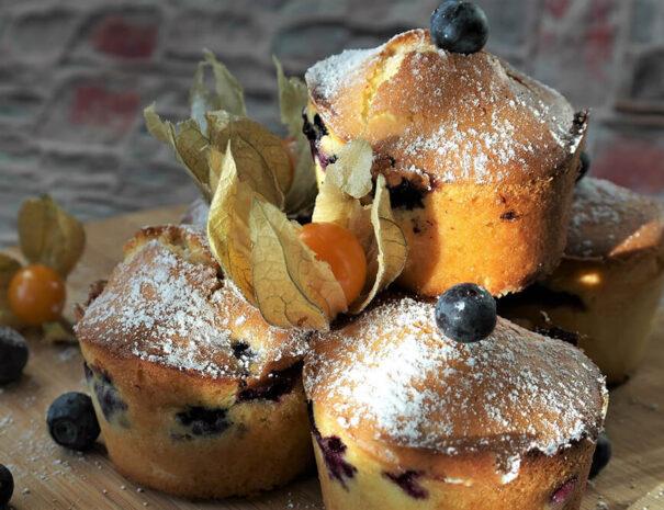 Konferensfika med muffins