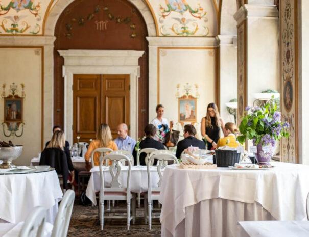 Konferens och middag på Rånäs slott