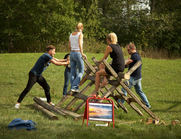 Teambuilding för företag på Marholmen