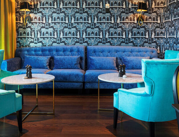 Lounge på Thon hotel Orion i Bergen