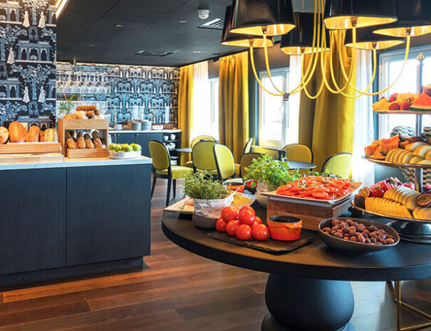 Loungen på Thon hotel Orion i Bergen