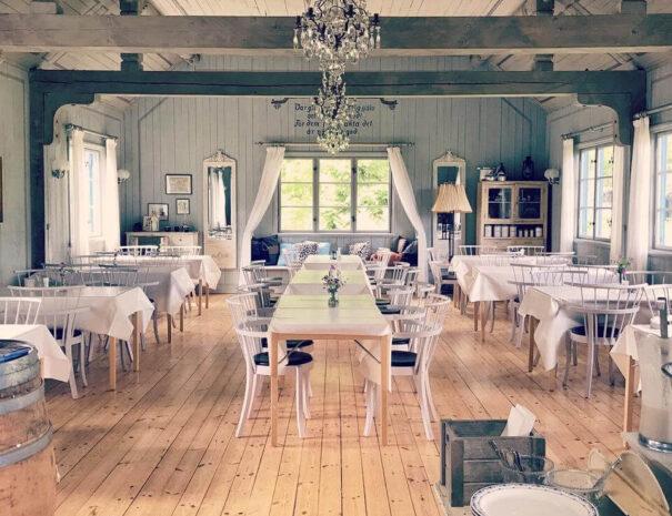 Vacker inomhusmiljö på Marholmen